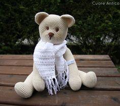 Cuore Antico: Teddy, Orsetto all'uncinetto!