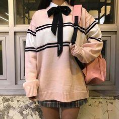 #158cm_46kg_DJ연 #Dailylook 홍대점 DJ연이의 스쿨룩 스타일링 2탄 #pink