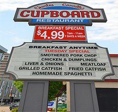 The Cupboard, Memphis
