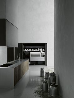 Self-Contained Kitchens And Islands: Kitchen Hide by Boffi - Kitchens