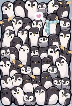 Cute designs of D Penguin Wallpaper oviyahdwallpaper Penguin Art, Penguin Love, Cute Penguins, Kawaii Drawings, Cute Drawings, Animal Drawings, Pinguin Drawing, Baby Animals, Cute Animals