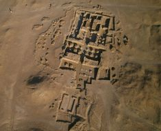 Archaeologists have excavated the remains of a sprawling temple complex dedicated to the god Amun at the Sudanese site of Dangeil, shown in this aerial view. Courtesy Y. Guichard © The Berber-Abidiya Archaeological Project. Ancient Ruins, Ancient Egypt, Ancient History, History Of Wine, Mystery Of History, History Timeline, History Facts, Religion And Politics, Creta