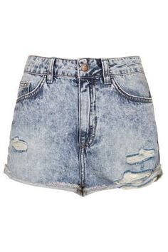 Moto Hallie Denim Hotpants