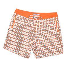 Mr. Swim Temple Orange Swim Trunk