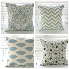 clearance pillow cover pillow decorative pillow blue pillows decorative throw pillow beach decor cushion house warming gift fast sh