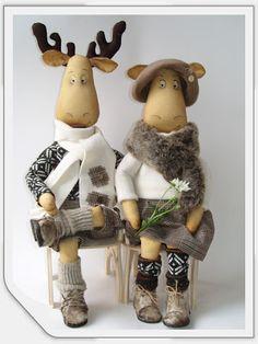 HandMade - уникальные подарки ручной работы: Лоси и олени