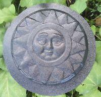 CASTING MOLD plastic Sun plaque mold concrete plaster garden mould