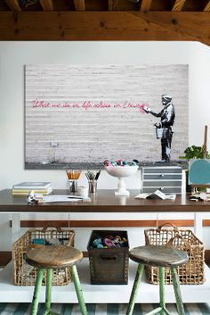 Banksy Blowout | Men Design Style at mendesignstyle.com