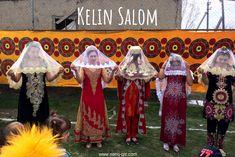 'Kelin Salom' (bride greeting) at the New years holiday Navruz.