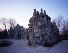 """Ideal palace, France- A french postman spent 33 years building """"Le Palais ideal"""" in Hauterives"""