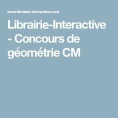 Librairie-Interactive - Concours de géométrie CM