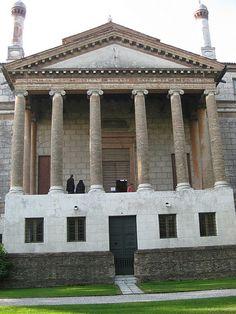 La Malcontenta - Palladio Georgian Architecture, Classic Architecture, Architecture Design, Andrea Palladio, Villa Palladio, Marie Antoinette, Old Town Italy, French Exterior, Italian Villa