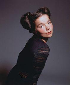 Björk Guðmundsdóttir (b.1965) Icelandic composer and producer (The Sugarcubes)