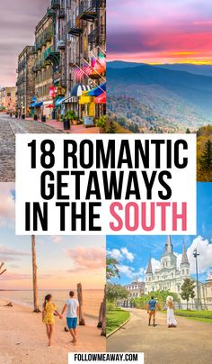 18 Interesting Weekend Getaways In The South | weekend trips in the south | best weekend trips in the south | southern weekend trips | weekend trips for couples in the south | best weekend trips in the south | best southern weekend trips | best weekend trips in south | fun weekend trips in the south | weekend getaway ideas | weekend getaways in the south | best weekend getaways in the south | best southern weekend getaways | fun weekend getaways in the south | #weekendgetawaysinthesouth Weekend Getaways In The South, Best Weekend Trips, Beautiful Places To Visit, Oh The Places You'll Go, Top Travel Destinations, Places To Travel, Travel Couple, Family Travel, Travel Goals