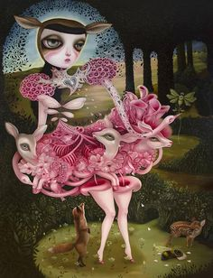 JennyBird Alcantara ... You've got to see her work in person to truly appreciate it!