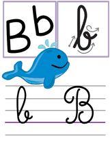 Affichage alphabet pour la classe Alphabet Cursif, Alphabet Images, Police Cursive, French Classroom, Kindergarten Activities, Childhood Education, Kids, Fictional Characters, Montessori