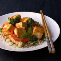 Sweet and Spicy Asian Tofu