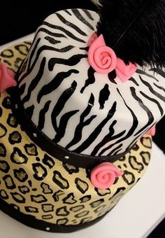 The Couture Cakery Designer Cakes, Cupcakes, Dessert Table Designs in Central Pennsylvania: Fashionista Birthday Cake Check out the website to see Gorgeous Cakes, Pretty Cakes, Cute Cakes, Amazing Cakes, Beautiful Desserts, Sweet Cakes, Zebra Birthday Cakes, Zebra Cakes, Cheetah Cakes