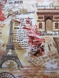 Timeless Treasures Paris fabric at Alice in Stitches