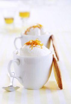 Appelsinmousse med kjeks | londonkjokken.com