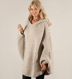 Denne ønsker jeg og strikke :) Mønster