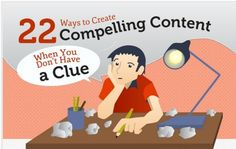 22 Ways to Create Compelling Content [Infographic] And Content Marketing CaseStudy