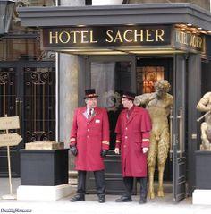 Gallery of photoshopped pictures via Freaking News Paris In Spring, Vienna Hotel, Hotel Services, Hotel Staff, Uniform Design, First Class, Vienna Austria, Facade Design, Concierge