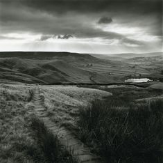 Paved path above Lumbutts, near Todmorden, West Yorkshire by Fay Godwin (from Remains of Elmet, 1979) © COLLECTIONS, LONDON