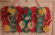 Flip Flop Wreaths