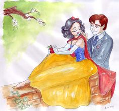 Designer fashion V (Snow White and her Prince) by TaijaVigilia.deviantart.com on @DeviantArt