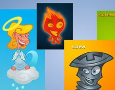 """Check out new work on my @Behance portfolio: """"Several characters"""" http://on.be.net/1Q8VSGA"""