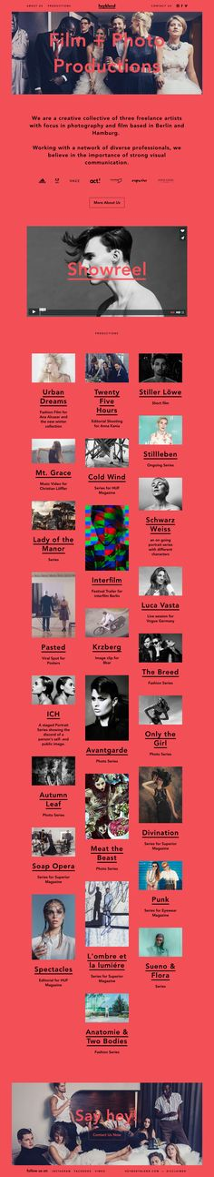 #design-art-web-design #portfolio #header-fix-layout #key-color-black #bg-color-red #English #Flat-design #Photographic #Pop