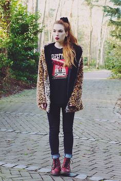 Silvy  J. - Sheinside Leopard Coat - FOREVER UNTIL THE END