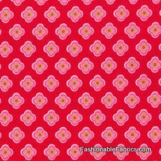 Ooh La La Petite Fleur Red by Pillow and Maxfield.  Ooh la la is right!