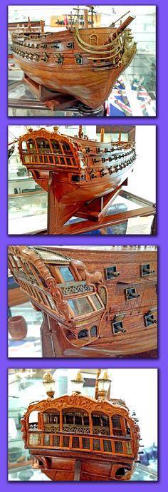 """Admiralty"" Board Type Model of HMS Lion after restoration in our museum workshop Restoration, Sci Fi, Workshop, Museum, Lion, Models, Type, Board, Leo"