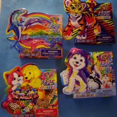 NEW 325 pc. LISA FRANK STICKER DREAMS * Your Choice * Tiger Dolphin Penguin Bear in Crafts,Scrapbooking & Paper Crafts,Embellishments | eBay