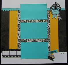CTMH For Always 1 page scrapbooking layout, by Deb Killian, Paper Hugz