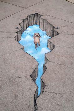 David Zinn - Otter Reconsider