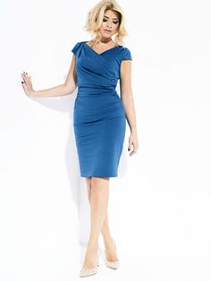 Holly Willoughby Twist Jersey Dress, http://www.very.co.uk/holly-willoughby-twist-jersey-dress/1270832780.prd