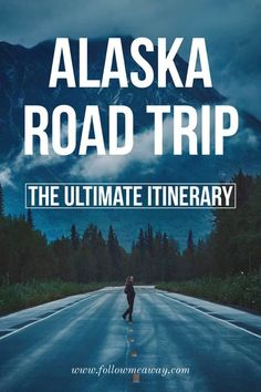 """Are you on the hunt for the best Alaska road trip itinerary that showcases the best the """"Last Frontier"""" has to offer? When planning your trip, feel free to modify our Alaska Itinerary based on the amount of time you Travel Alaska, Travel Usa, Alaska Trip, Cruise Travel, Alaska Usa, Overseas Travel, Hawaii Travel, Ways To Travel, Travel Tips"""