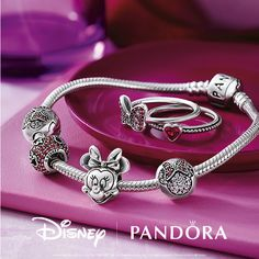 Minnie is always in style. Bring character to your look. #DisneyAndPANDORA