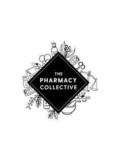 The Pharmacy Collective - Logo design by Leah Sylvia Creative