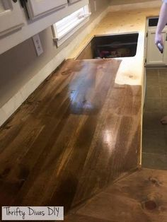 Inexpensive Countertops For Kitchens Drop Leaf Kitchen Table Plans How To Buy Standard Ikea Butcher Block Counters And Make Them All Stain Your Own