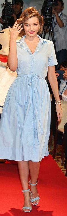 Miranda Kerr: Shoes – Schultz  Jewelry – Jaque Aiche  Dress – Custom