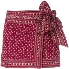 Isabel Marant Étoile 'Lyne' wrap skirt