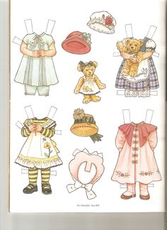 EMMA and Her Favorite Fancy Clothes ~ Artist Theresa Boreli for Martha Pullen Company 2 of 2