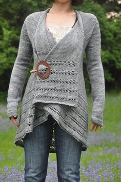 Another gorgeous sweater from Jettshin - not her pattern, but her execution is great. The original, in a variegated handpaint, is lovely too!
