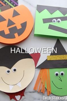 HALLOWEEN CARDS so many cute Halloween card ideas Click the post to get the free printable templates Cute Halloween, Halloween Cards, Printable Templates, Free Printables, Late Modern Period, Card Ideas, How To Get, Ornaments, Printable Stencils