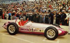 "1960 – Jim Hurtabise's (#57) ""Travelon Trailers"" Christensen-Offenhauser' Roadster – Qualified 23st, Speed (149.050 mph) - Finished 18th, Engine Lap 185"