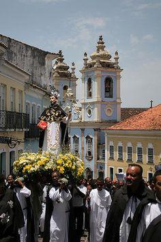 Procissão Irmandade de N. S. do Rosário dos Homens Pretos, Salvador - Bahia